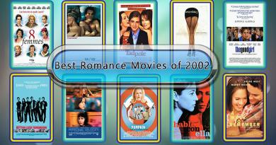 Best Romance Movies of 2002