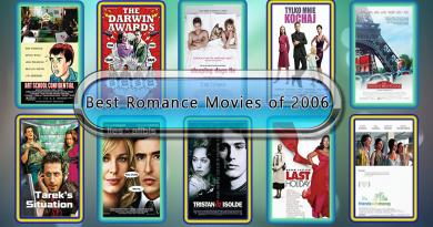 Best Romance Movies of 2006