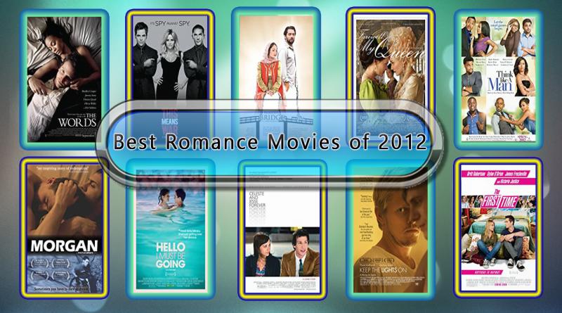 Best Romance Movies of 2012