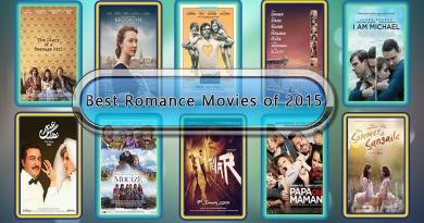 Best Romance Movies of 2015