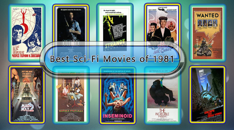 Best Sci-Fi Movies of 1981
