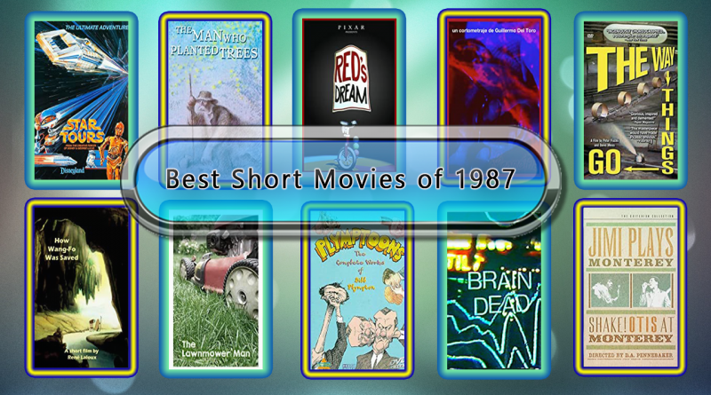 Best Short Movies of 1987