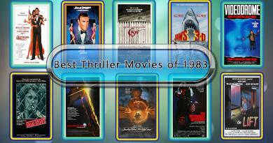 Best Thriller Movies of 1983