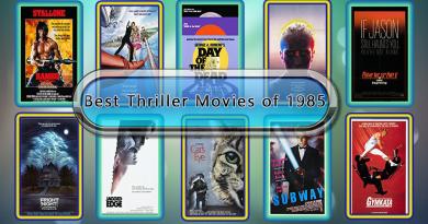 Best Thriller Movies of 1985