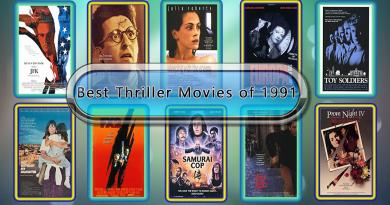 Best Thriller Movies of 1991