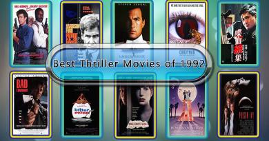 Best Thriller Movies of 1992