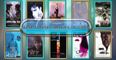 Best Thriller Movies of 1993