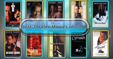 Best Thriller Movies of 1994