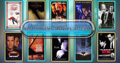 Best Thriller Movies of 1996