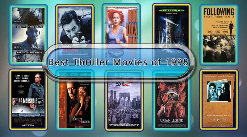 Best Thriller Movies of 1998