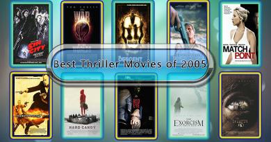 Best Thriller Movies of 2005