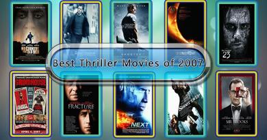 Best Thriller Movies of 2007