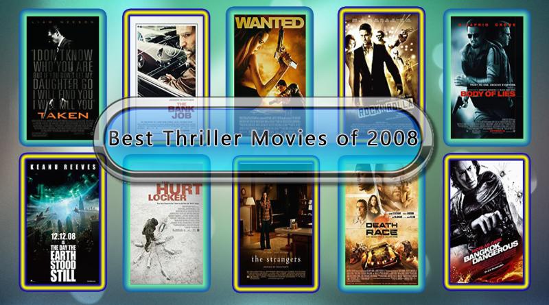 Best Thriller Movies of 2008