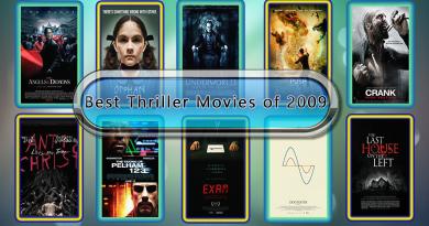 Best Thriller Movies of 2009
