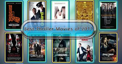 Best Thriller Movies of 2011