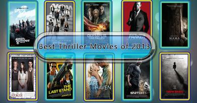 Best Thriller Movies of 2013