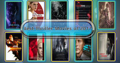 Best Thriller Movies of 2017