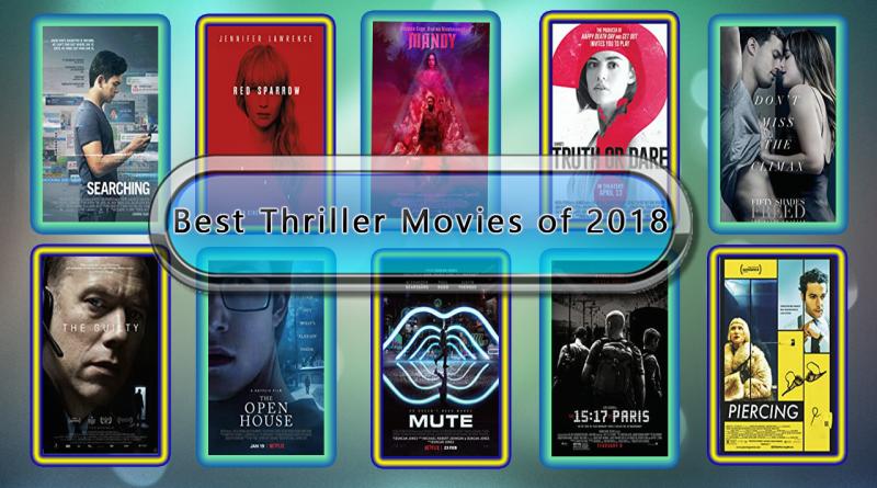 Best Thriller Movies of 2018