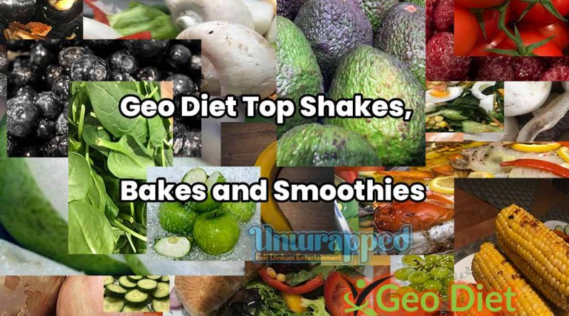 Geo Diet Top Shakes, Bakes and Smoothies