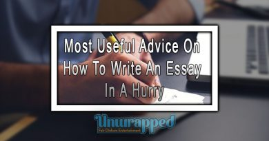 Most Useful Advice On How To Write An Essay In A Hurry