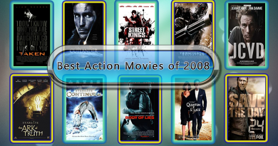 10 Best Action Movies of 2008