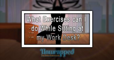 What Exercises can I do While Sitting at my Work Desk?