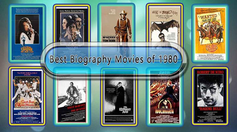 Best Biography Movies of 1980: Unwrapped Official Best 1980 Biography Films