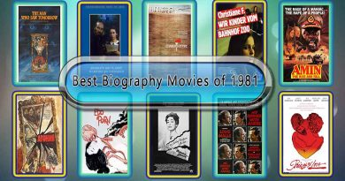 Best Biography Movies of 1981: Unwrapped Official Best 1981 Biography Films
