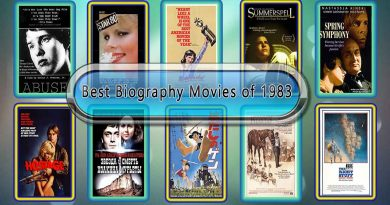 Best Biography Movies of 1983: Unwrapped Official Best 1983 Biography Films
