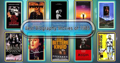 Best Biography Movies of 1985: Unwrapped Official Best 1985 Biography Films