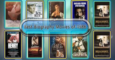 Best Biography Movies of 1986: Unwrapped Official Best 1986 Biography Films