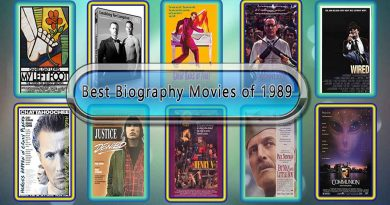 Best Biography Movies of 1989: Unwrapped Official Best 1989 Biography Films