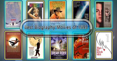 Best Biography Movies of 1993: Unwrapped Official Best 1993 Biography Films