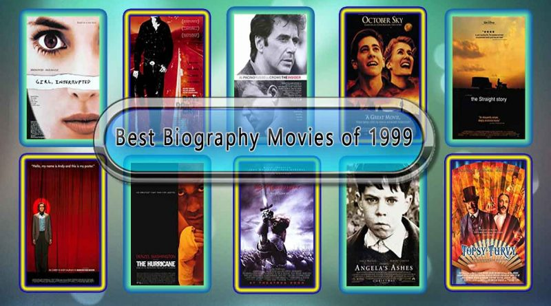 Best Biography Movies of 1999: Unwrapped Official Best 1999 Biography Films