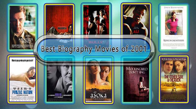 Best Biography Movies of 2001: Unwrapped Official Best 2001 Biography Films
