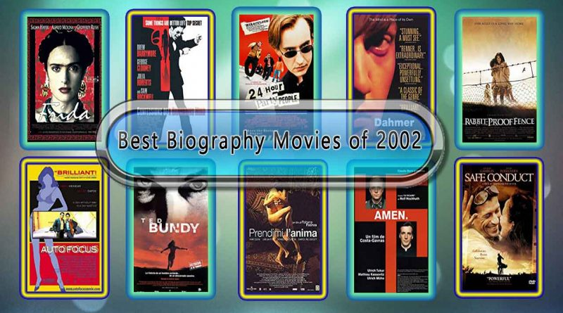 Best Biography Movies of 2002: Unwrapped Official Best 2002 Biography Films