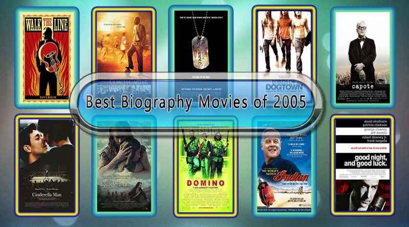 Best Biography Movies of 2005: Unwrapped Official Best 2005 Biography Films