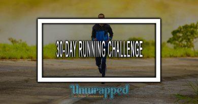 30-DAY RUNNING CHALLENGE