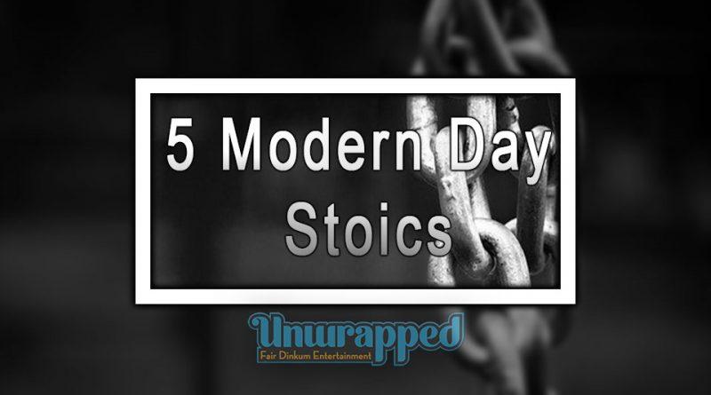 5 Modern Day Stoics