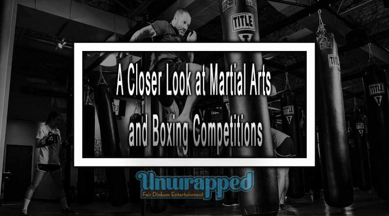 A Closer Look at Martial Arts and Boxing Competitions