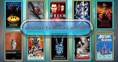 Best Sci-Fi Movies of 2001: Unwrapped Official Best 2001 Sci-Fi Films