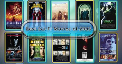 Best Sci-Fi Movies of 2003: Unwrapped Official Best 2003 Sci-Fi Films