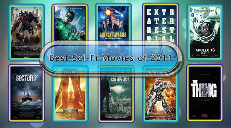 Best Sci-Fi Movies of 2011: Unwrapped Official Best 2011 Sci-Fi Films