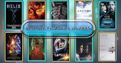 Best Sci-Fi Movies of 2015: Unwrapped Official Best 2015 Sci-Fi Films