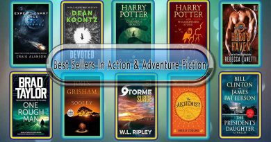 Top 10 Must Read Action & Adventure Best Selling Novels