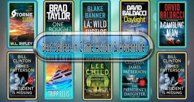 Best Sellers in Crime Action & Adventure