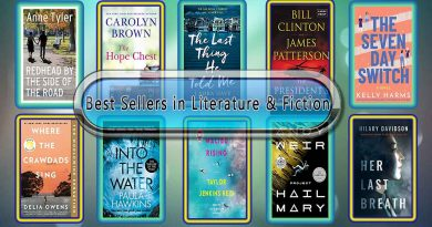 Top 10 Literature & Fiction Novels in the World
