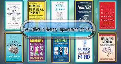 Top 10 Must Read Memory Improvement Best Selling Books