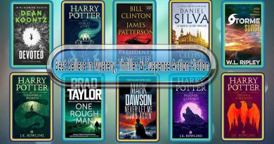 Top 10 Must Read Mystery, Thriller & Suspense Best Selling Novels