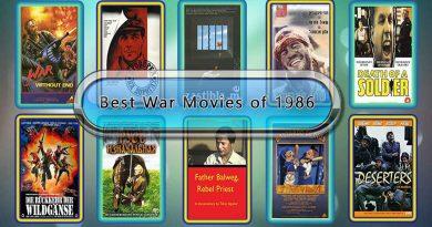 Best War Movies of 1986: Unwrapped Official Best 1986 War Films